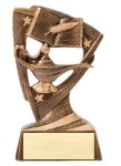 Stars Resin Award -Knowledge Bronze and Gold Star Resin Trophy Awards