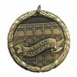 Perfect Attendace Medal Education Trophy Awards
